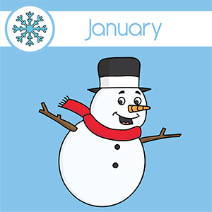 topic calendar January
