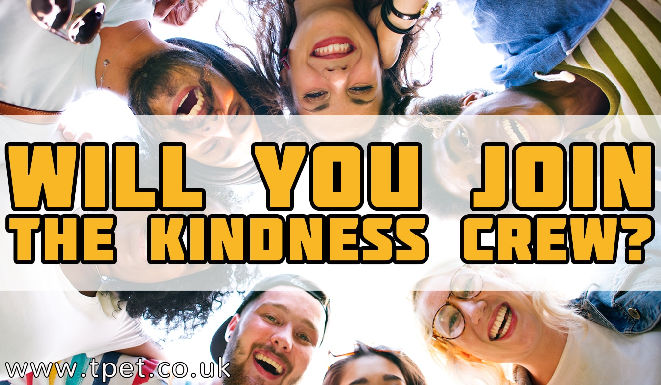 Will you join the Kindness Crew?