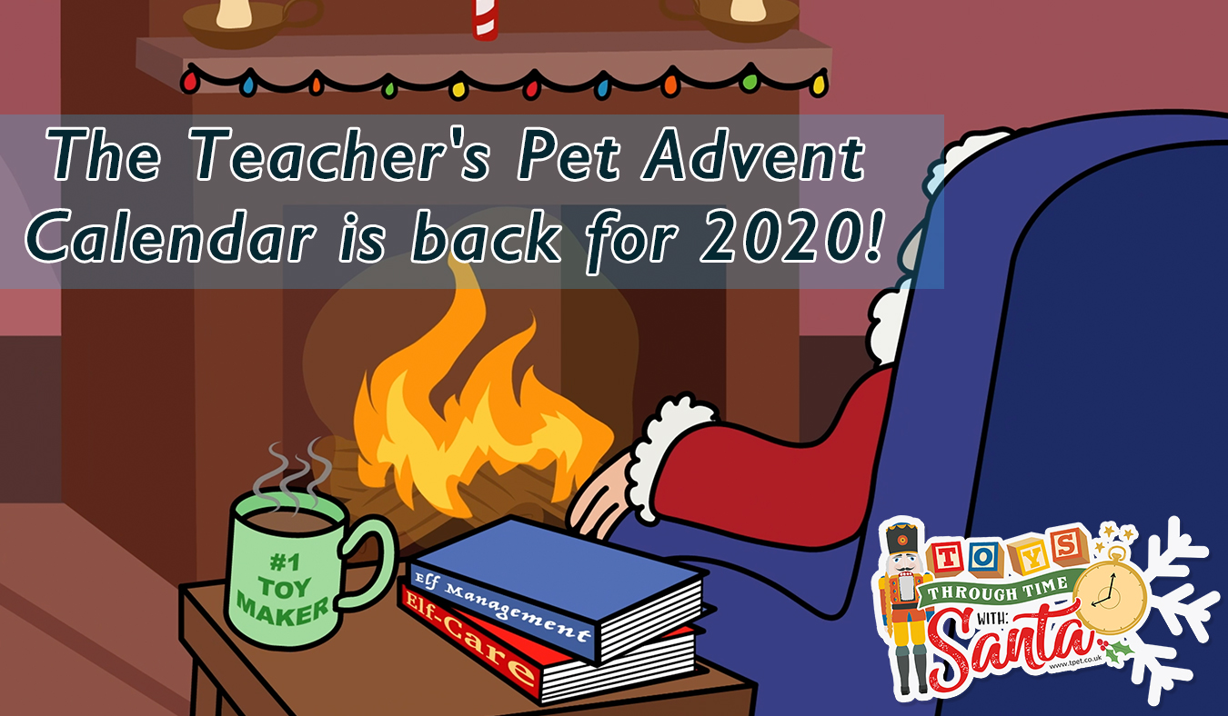 The Teacher's Pet Advent Calendar is back for 2020!