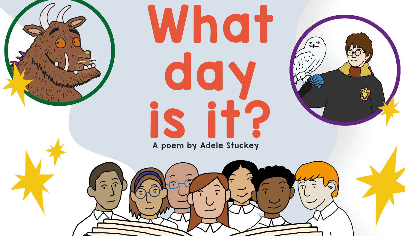 World Book Day – A Poem By Adele Stuckey