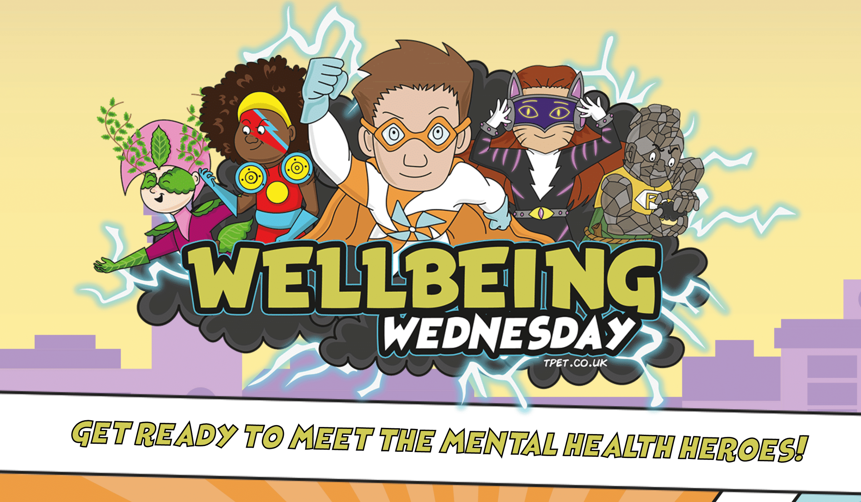 #WellbeingWednesday is Back With The #MentalHealthHeroes!