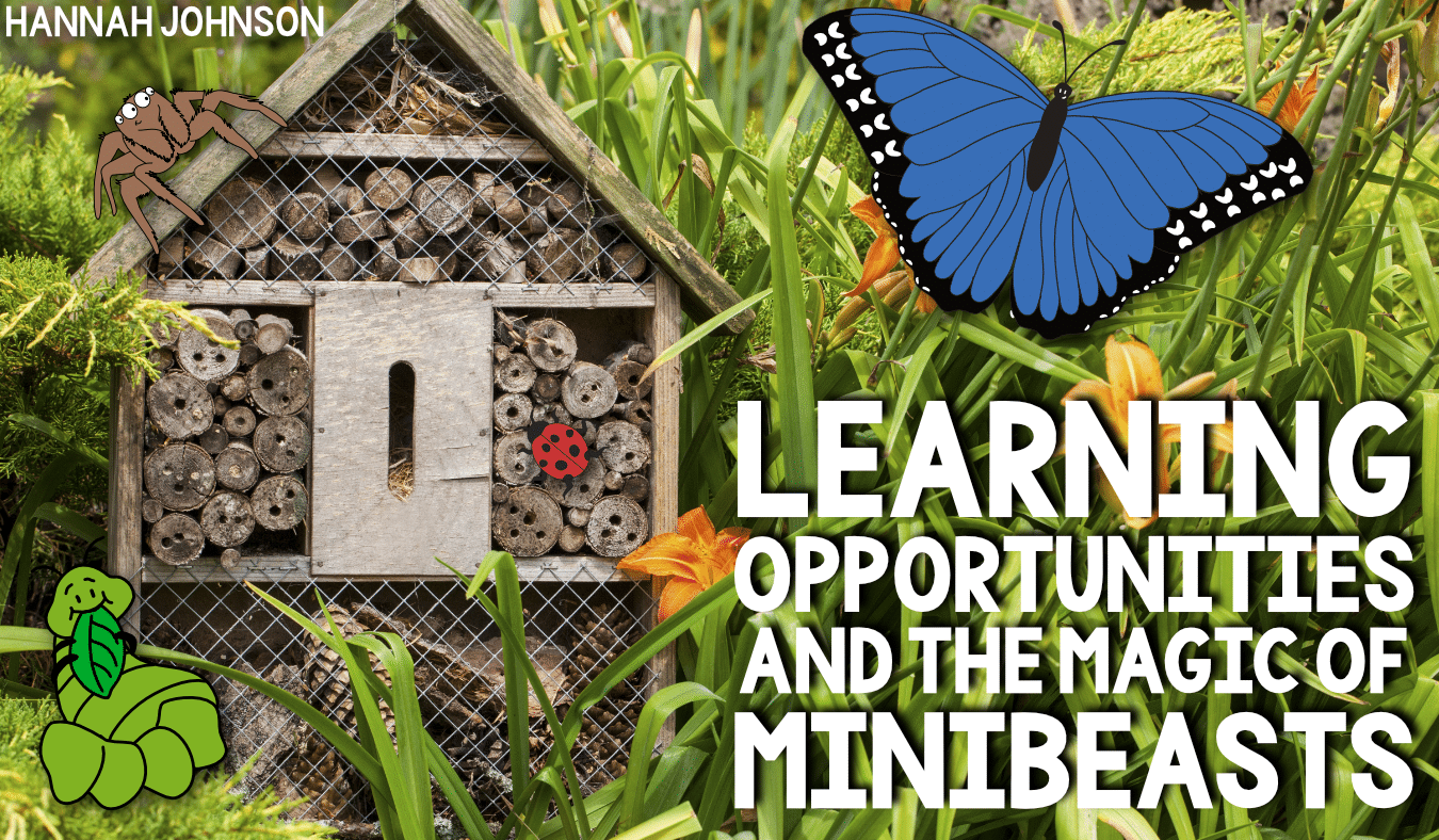 Learning Opportunities and The Magic of Minibeasts