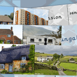 Different Houses – Pictures and Name Cards Game