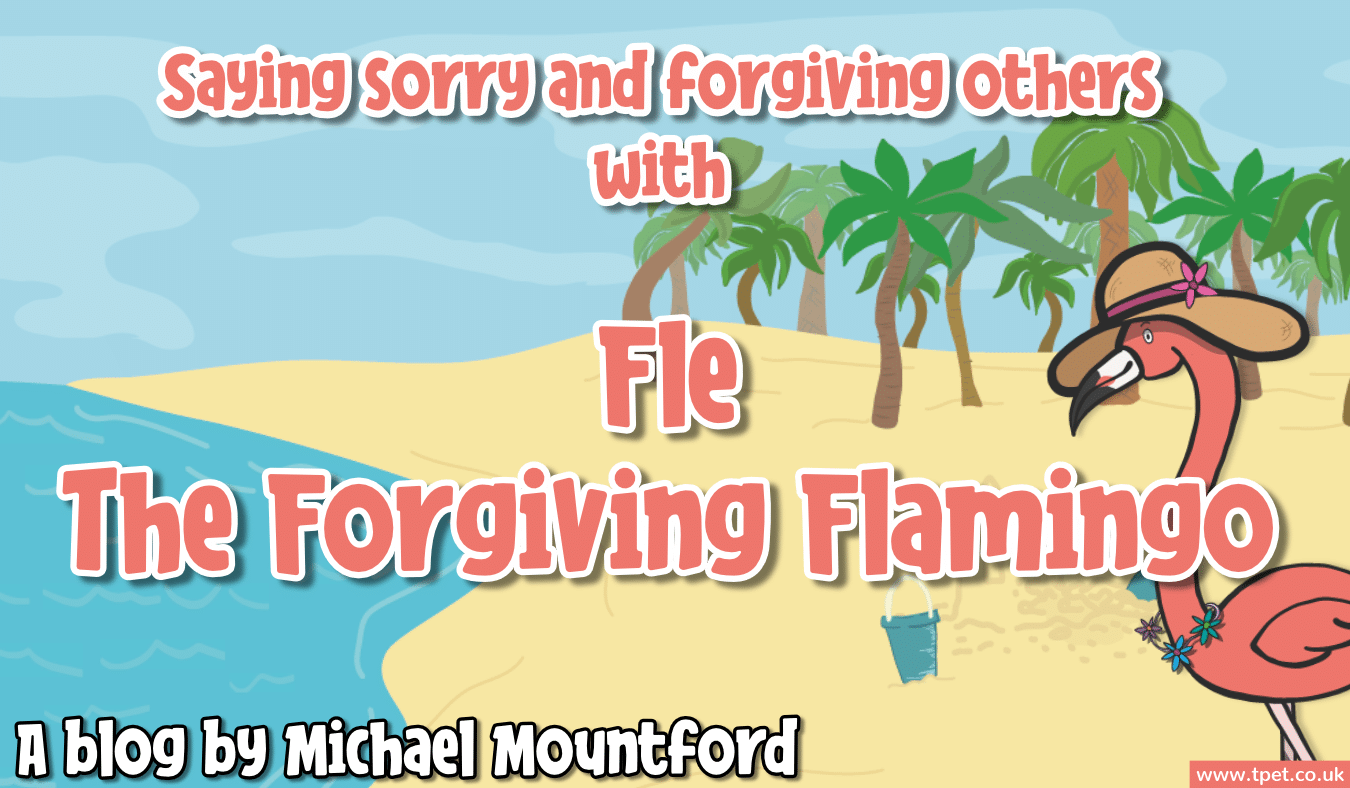 Introducing Fle The Forgiving Flamingo Wellbeing Wednesday – Wellbeing Flock – Week 7