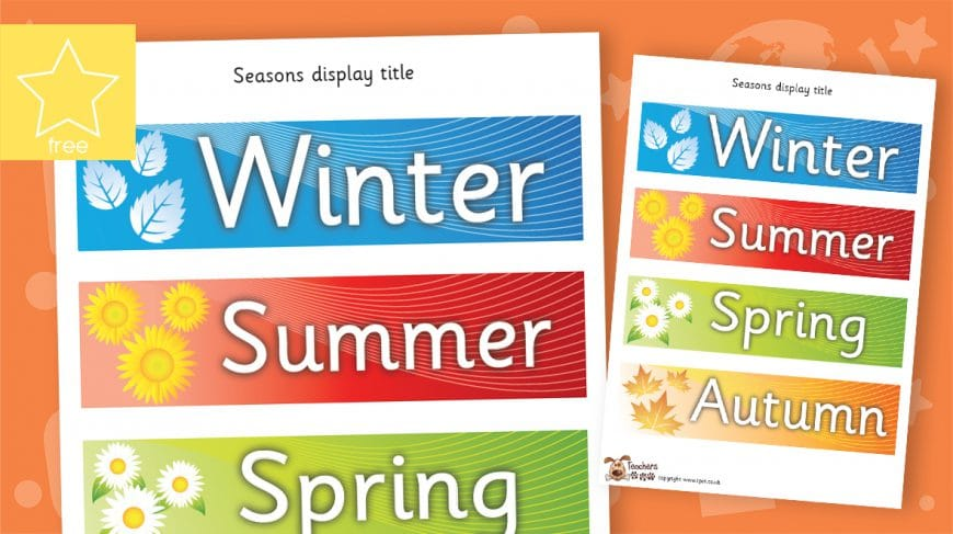 seasons labels