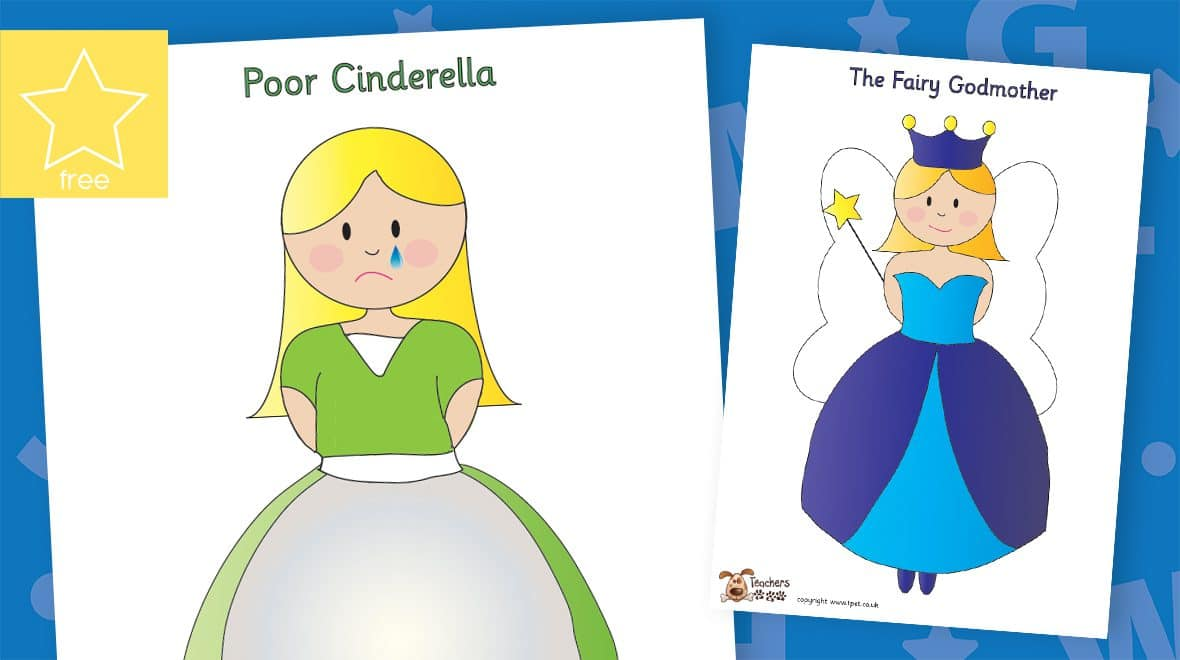 cinderella fairy tale story character posters