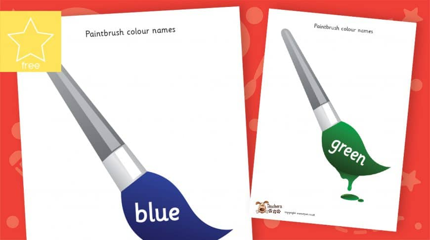 paintbrush colours