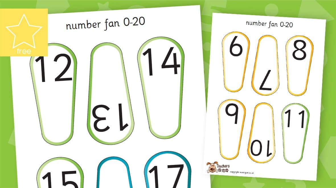 numbers to 20 fans
