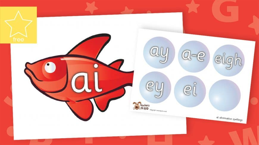 alternative spellings phonics fish