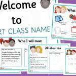 Editable Early Years Welcome Pack