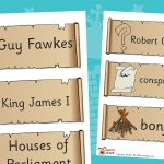 Gunpowder Plot Labels