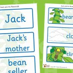 Jack and the Beanstalk Labels
