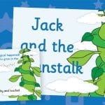 Jack and the Beanstalk Story Prompt Posters