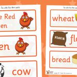 Little Red Hen Labels