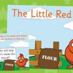 Little Red Hen Story Posters