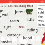 Little Red Riding Hood Word Mat