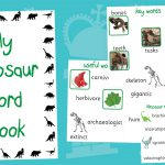 Dinosaur Key Words Book