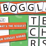 Boggle Interactive Display Pack