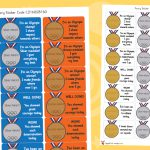 Olympic Values Stickers