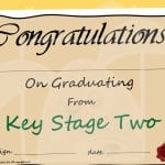 Key Stage 2 (KS2) Graduation Certificate
