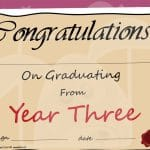 Year 3 Graduation Certificate