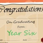 Year 6 Graduation Certificate