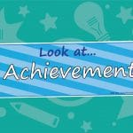 Look at our Achievements Banner