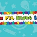You Fit Right In Jigsaw Puzzle Banner