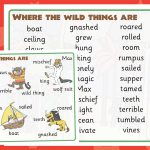 Where The Wild Things Are Word Mat