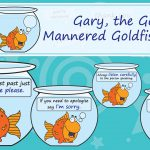 Gary the Good Mannered Goldfish Behaviour Display Pack