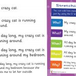 Stretching a Sentence 'W' Questions Poster
