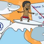 Internet Safety With Surfer Sam Cut Outs