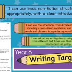 Year 6 – Must, Should, Could Writing Targets
