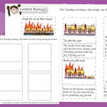 The Great Fire of London – Sequencing and Describe (Hard)