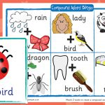 Compound Words Bingo (text and images)