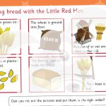 The Little Red Hen Bread Making Activity