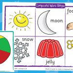 Compound Words Bingo – Matching (with words)