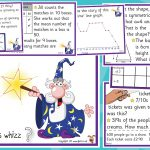 Year 6 Maths Challenge Cards (Pack 2)