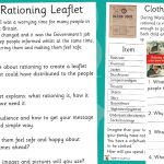 WW2 Rationing Activities