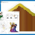 Nativity Cut Out Activity