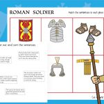 Roman Soldier Cut and Sort