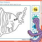 Commotion in the Ocean Addition to 20 Colouring