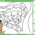 Rumble in the Jungle Colouring