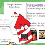 Fireworks Safety Poster Design
