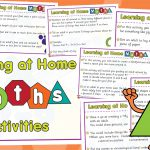 Learning at Home Maths Activities