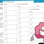 Year 4 Mental Maths (Block 1)