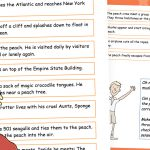 Editable James and the Giant Peach – Story Sequencing (simple)