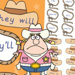 Cowboy Contractions Game