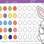 Easter Egg Colour Pattern Sequencing