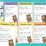 Barnaby Bear Destination Question Cards